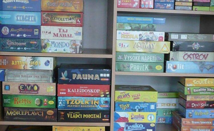Virtuální deskové hry s Hrubínkou