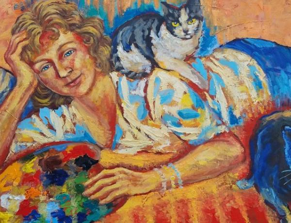 Výstava obrazů Magdaleny Křenkové bude ve věži