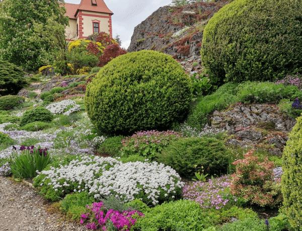Víkend otevřených zahrad na hradě Kámen